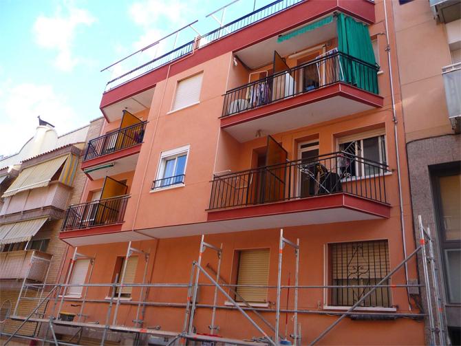 Rehabilitación Fachada C/ Olot Santa Coloma de Gramenet