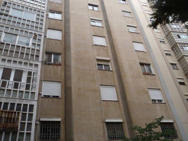 Rehabilitación Fachada Delantera y Trasera en Concepción Arenal