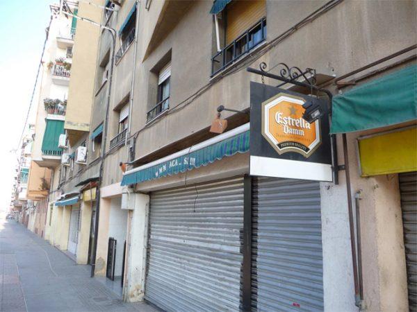 Rehabilitación fachada paseo alameda de Santa Coloma de Gramenet