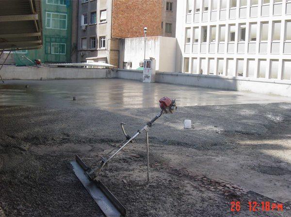 Solado Parking de Conselleria de Agricultura y Pesca de la Generalitat
