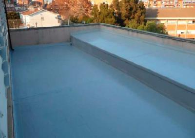 Impermeabilización terraza colegio Santa Perètua de Mogoda