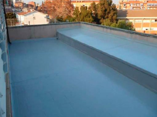 Impermeabilización Terraza Colegio de Santa Perpètua de Mogoda