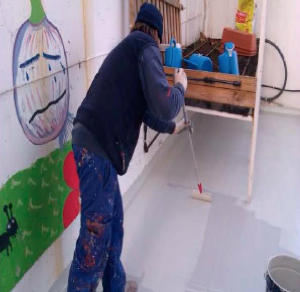 Impermeabilización de terrazas de colegio en Santa Perpètua de Mogoda